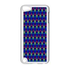 Honeycomb Fractal Art Apple Ipod Touch 5 Case (white)
