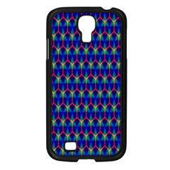 Honeycomb Fractal Art Samsung Galaxy S4 I9500/ I9505 Case (Black)