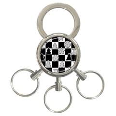 Xmas Checker 3-Ring Key Chains