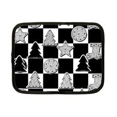 Xmas Checker Netbook Case (Small)