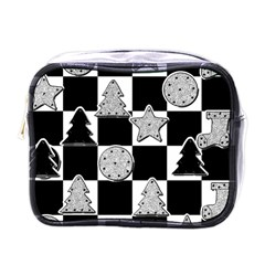 Xmas Checker Mini Toiletries Bags