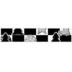 Xmas Checker Flano Scarf (large)