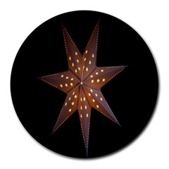 Star Light Decoration Atmosphere Round Mousepads