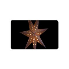 Star Light Decoration Atmosphere Magnet (Name Card)