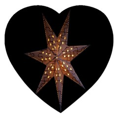 Star Light Decoration Atmosphere Jigsaw Puzzle (Heart)