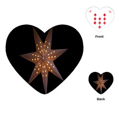 Star Light Decoration Atmosphere Playing Cards (Heart)