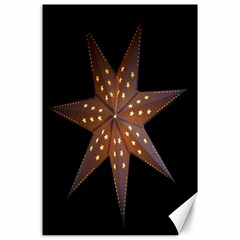 Star Light Decoration Atmosphere Canvas 24  x 36