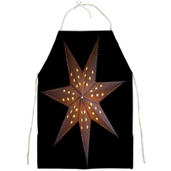 Star Light Decoration Atmosphere Full Print Aprons