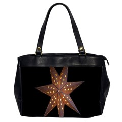 Star Light Decoration Atmosphere Office Handbags (2 Sides)