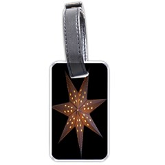 Star Light Decoration Atmosphere Luggage Tags (One Side)