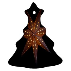 Star Light Decoration Atmosphere Christmas Tree Ornament (Two Sides)