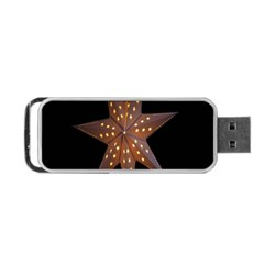 Star Light Decoration Atmosphere Portable USB Flash (Two Sides)