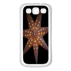 Star Light Decoration Atmosphere Samsung Galaxy S3 Back Case (White)