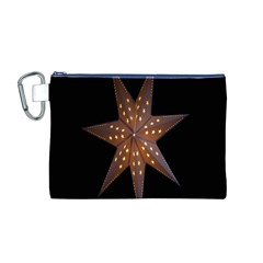 Star Light Decoration Atmosphere Canvas Cosmetic Bag (M)