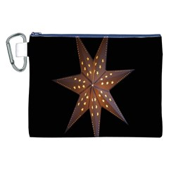 Star Light Decoration Atmosphere Canvas Cosmetic Bag (XXL)