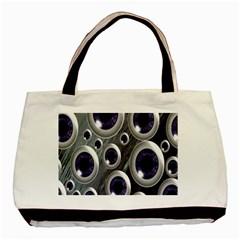 Eyeballs Pattern Basic Tote Bag (Two Sides)