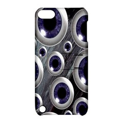 Eyeballs Pattern Apple Ipod Touch 5 Hardshell Case With Stand