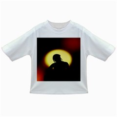 Silhouette Woman Meditation Infant/Toddler T-Shirts