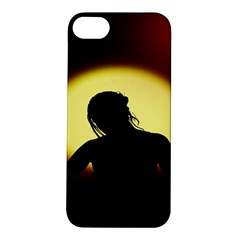 Silhouette Woman Meditation Apple Iphone 5s/ Se Hardshell Case