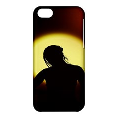Silhouette Woman Meditation Apple Iphone 5c Hardshell Case