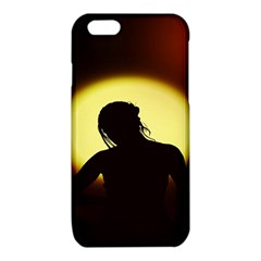Silhouette Woman Meditation iPhone 6/6S TPU Case
