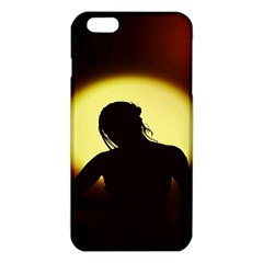 Silhouette Woman Meditation iPhone 6 Plus/6S Plus TPU Case