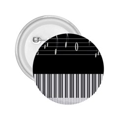 Piano Keyboard With Notes Vector 2.25  Buttons