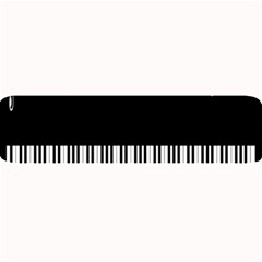 Piano Keyboard With Notes Vector Large Bar Mats