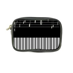 Piano Keyboard With Notes Vector Coin Purse