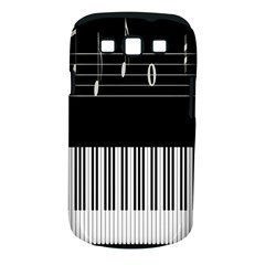 Piano Keyboard With Notes Vector Samsung Galaxy S Iii Classic Hardshell Case (pc+silicone)