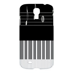 Piano Keyboard With Notes Vector Samsung Galaxy S4 I9500/I9505 Hardshell Case