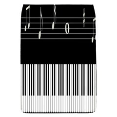 Piano Keyboard With Notes Vector Flap Covers (s)