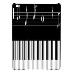 Piano Keyboard With Notes Vector iPad Air Hardshell Cases