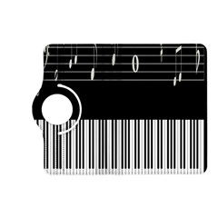 Piano Keyboard With Notes Vector Kindle Fire Hd (2013) Flip 360 Case