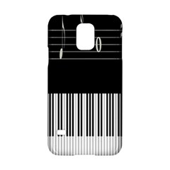 Piano Keyboard With Notes Vector Samsung Galaxy S5 Hardshell Case