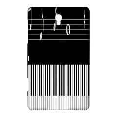 Piano Keyboard With Notes Vector Samsung Galaxy Tab S (8.4 ) Hardshell Case