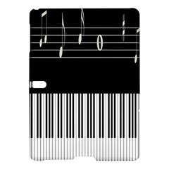Piano Keyboard With Notes Vector Samsung Galaxy Tab S (10.5 ) Hardshell Case