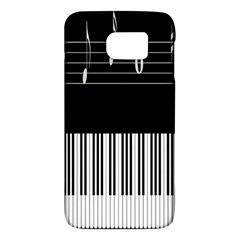 Piano Keyboard With Notes Vector Galaxy S6