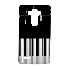 Piano Keyboard With Notes Vector LG G4 Hardshell Case