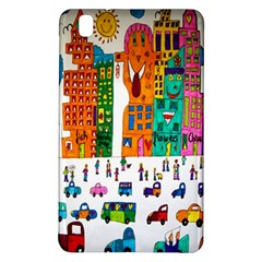 Painted Autos City Skyscrapers Samsung Galaxy Tab Pro 8.4 Hardshell Case