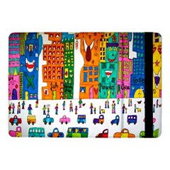 Painted Autos City Skyscrapers Samsung Galaxy Tab Pro 10.1  Flip Case