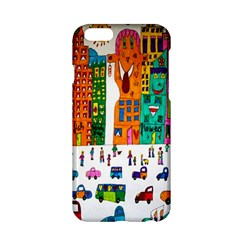 Painted Autos City Skyscrapers Apple iPhone 6/6S Hardshell Case