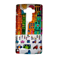 Painted Autos City Skyscrapers LG G4 Hardshell Case