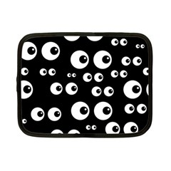Seamless Eyes Tile Pattern Netbook Case (small)