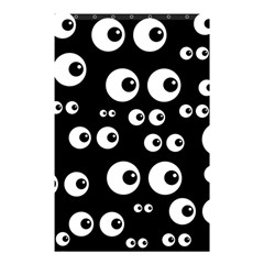 Seamless Eyes Tile Pattern Shower Curtain 48  x 72  (Small)