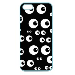 Seamless Eyes Tile Pattern Apple Seamless iPhone 5 Case (Color)