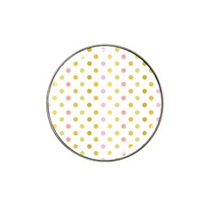 Polka Dots Retro Hat Clip Ball Marker (4 pack)