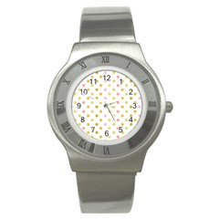 Polka Dots Retro Stainless Steel Watch