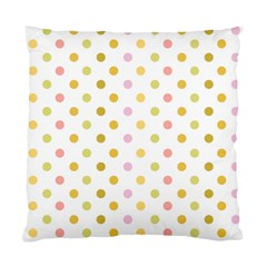 Polka Dots Retro Standard Cushion Case (two Sides)