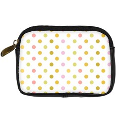 Polka Dots Retro Digital Camera Cases